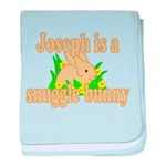 Joseph is a Snuggle Bunny baby blanket