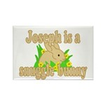 Joseph is a Snuggle Bunny Rectangle Magnet (10 pac