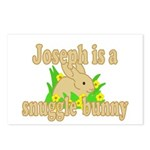 Joseph is a Snuggle Bunny Postcards (Package of 8)
