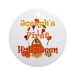 First Halloween Joseph Ornament (Round)