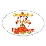 First Halloween Joseph Sticker (Oval)