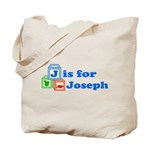 Baby Blocks Joseph Tote Bag