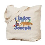 J is for Joseph Tote Bag