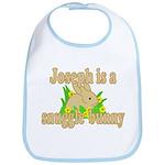 Joseph is a Snuggle Bunny Bib