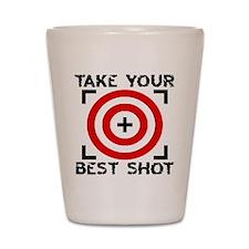 Take Your Best Shot (shot glass)