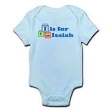 Baby Name Blocks - Isaiah Onesie