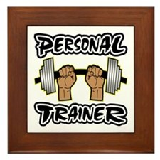 Personal Trainer Framed Tile