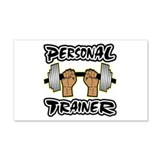 Personal Trainer 22x14 Wall Peel