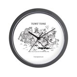 Tort Time Wall Clock