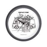 Privacy Time Wall Clock