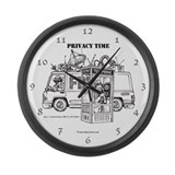 Privacy Time Large Wall Clock