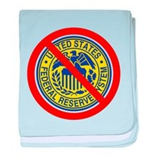 No Federal Reserve baby blanket