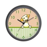 Yellow Lab Watermelon Wall Clock