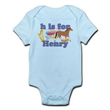 H is for Henry Infant Bodysuit