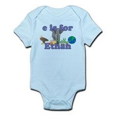 E is for Ethan Infant Bodysuit