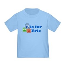 Baby Name Blocks - Eric T