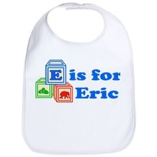 Baby Name Blocks - Eric Bib