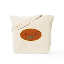 All is Well Leaf -Orange Tote Bag