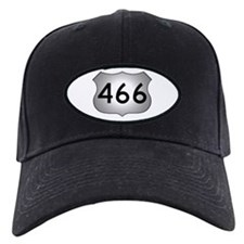 US 466 Black Baseball Cap