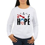 Anti Obama 2012 Women's Long Sleeve T-Shirt