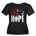 Anti Obama 2012 Women's Plus Size Scoop Neck Dark