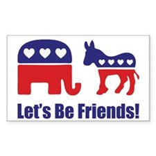 Let's Be Friends! Decal