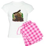 Moose humor Women's Light Pajamas