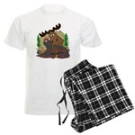 Moose humor Men's Light Pajamas