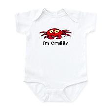 I'm crabby Infant Creeper