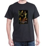 Rubens Self Portrait & Quote Black T-Shirt