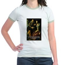 Rubens Self Portrait & Quote T