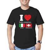 ITALY-SWITZERLAND Tee-Shirt