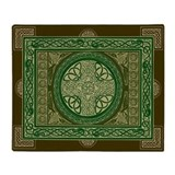 Single-Sided Celtic Cross Blanket / Tapestry