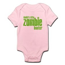 Daddy's Little Zombie Hunter Onesie