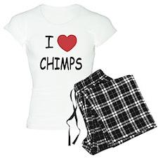I heart chimps Pajamas