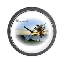 Unique Montserrat Wall Clock