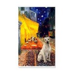 Cafe-Yellow Lab 7 20x12 Wall Decal