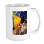 Cafe-Yellow Lab 7 Large Mug
