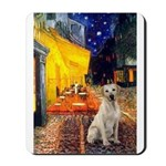 Cafe-Yellow Lab 7 Mousepad