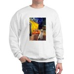 Cafe-Yellow Lab 7 Sweatshirt