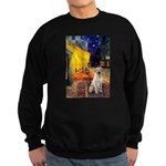 Cafe-Yellow Lab 7 Sweatshirt (dark)