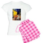 Cafe-Yellow Lab 7 Women's Light Pajamas
