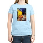 Cafe-Yellow Lab 7 Women's Light T-Shirt