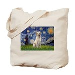 Starry - Yellow Lab 7 Tote Bag