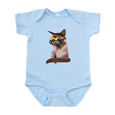 Goofy Cat Infant Bodysuit