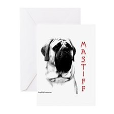 Mastiff 107 Greeting Cards (Pk of 10)