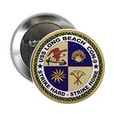 USS Long Beach CGN 9 Button