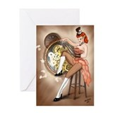 Steampunk Sally Greeting Card