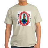 USS California CGN 36 Decomm Ash Grey T-Shirt