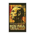 Ron Paul Sticker (Rectangle 50 pk)